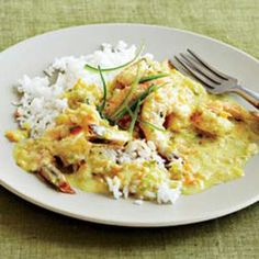 Shrimp in Coconut Curry