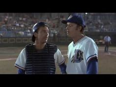 """Man, that ball got outta here in a hurry"" - Crash Davis - Bull Durham. My favorite baseball movie. Baseball Movies, Baseball Quotes, Bull Durham Quotes, Favorite Movie Quotes, Favorite Things, Tim Robbins, Steve Martin, Susan Sarandon, Kevin Costner"