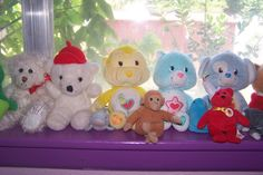 More of her bears....