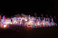 Chris from Billings, Mont.: Nominee for Best Private Lights Display! http://www.10best.com/awards/travel/best-private-lights-display/