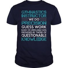 Awesome Tee For Gymnastics Instructor T-Shirts, Hoodies. BUY IT NOW ==► Funny Tee Shirts