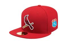 New Era 59Fifty 2016 Spring Training St. Louis Cardinals Fitted Baseball Cap MLB #NewEra #BaseballCap #StLouisCardinals