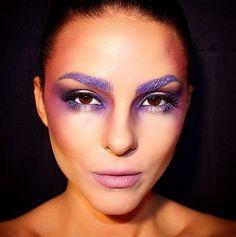 Purple Envy // 15 Incredible Eyelash Looks That'll Make You Do a Double Take