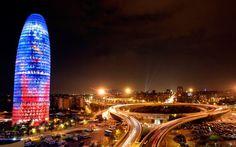 Torre Agbar(Barcelona)