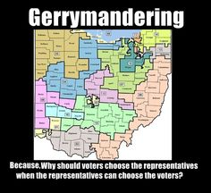 Gerrymandering: Republicans really did a number on Ohio, Pennsylvania, and Michigan (as well as many other states)