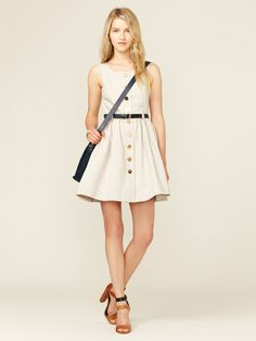 Double Cotton Pinafore Dress by Orla Kiely at Gilt