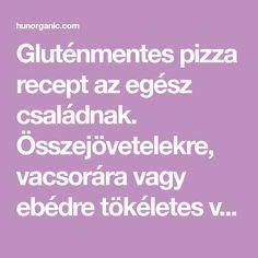Gluténmentes pizza recept az egész családnak. Összejövetelekre, vacsorára vagy ebédre tökéletes választás, könnyen elkészíthető.