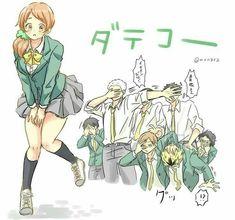 oh my god futakuchi and the other guy- Haikyuu Genderbend, Haikyuu Karasuno, Haikyuu Manga, Haikyuu Fanart, Kagehina, Manga Anime, Anime Art, Kenma, Kuroken