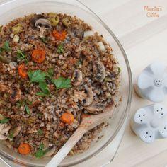 Pilaf de hrisca / Buckwheat risotto - Madeline's Cuisine