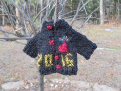 Week #2 of Mountain Street Arts Tiny Sweater Knit along.