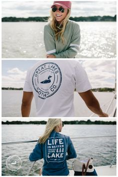 Show off your Midwestern roots with this timeless pocket long sleeve. Featuring our distressed circle logo on the back and our vintage loon on the front - this will be your new go-to. Lake Cabins, Circle Logos, Lake Life, Life Is Good, Roots, Logo Design, T Shirts For Women, Pocket, Lady