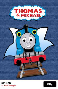 Personalised Thomas Name Label H K Thomas Tren Fiesta