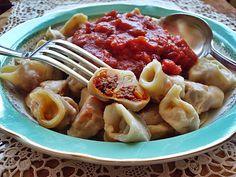 Tortellini ( Vegan) http://macuisinevegetalienne.blogspot.fr/2013/04/tortellini-vegan.html
