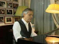 Andrea Bocelli - My way - YouTube // Ahhh he is so good. ❤️