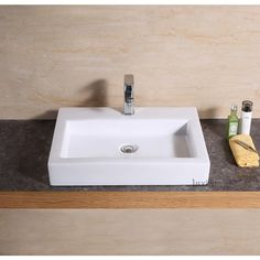 Introducing vessel sink, a luxury modern contemporary ceramic vessel sink. Brought to you by Luxier, the premium brand in European designed bathroom and kitchen hardware. All Luxier ceramic sinks are backed by 2 Years US warranty and customer support. Pedestal Sink, Vanity Sink, Sink Faucets, 24 Vanity, Ceramic Sink, Porcelain Ceramics, White Ceramics, Drop In Bathroom Sinks, Wall Mounted Bathroom Sinks