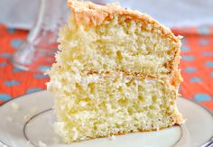 Pass the Plate: Dreamsicle Cake {and where I'm going to College!}