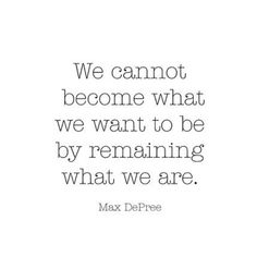 Become what you want