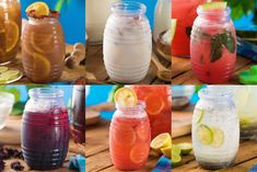 Check this delicious 6 Fresh Waters Authentic Mexican Recipes, Mexican Food Recipes, Vegetarian Recipes, Cooking Recipes, Tamarindo Drink Recipe, Agua Fresca Recipe, Fruit Drinks, Smoothie Drinks, Non Alcoholic Drinks
