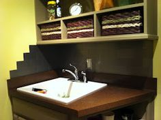 Connoisseur of Creativity: DIY Laundry Room Back Splash