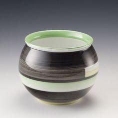 Nora Gulbrandsen, Porsgrunds Porselænsfabrik AS (Produsent), Designing Women, Norway, Sweden, Scandinavian, Art Deco, Porcelain, Vase, Ceramics, Tableware