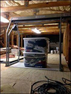 24 best versa lift attic system images in 2019 garage storage rh pinterest com