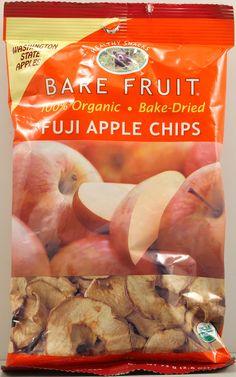 Bare Fruit Organic Dried Fat-Free Fuji Apple Chips