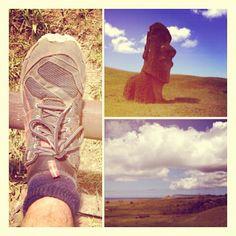 #PUMAs on Easter Island. #travelingpumas #travel #shoes