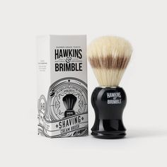 Brand identity and packaging design for Hawkins and Brimble. The brief was to design a mens grooming brand from the ground up, the only limitations were that it had to be rooted in the UK and to appeal to an ever increasing & premium male grooming market. For the branding we developed a bespoke typography style based on beautiful vintage barber signage and branded stamps to give a sense of heritage and efficacy.