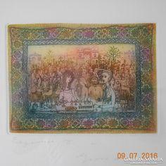 Gross Arnold Eszpresszó II. c. rézkarca Vintage World Maps, Painting, Art, Art Background, Painting Art, Kunst, Gcse Art, Paintings, Painted Canvas