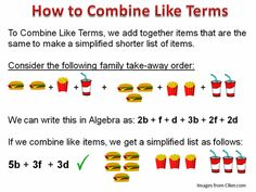 combining like terms - Google Search