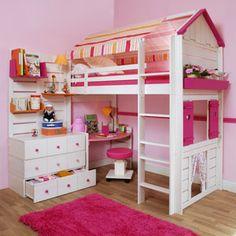 Ludolit es una marca francesa que comercializa unos muebles la mar de divertidos para las habitaciones de los más pequeños. ¡Y son evolutivas!