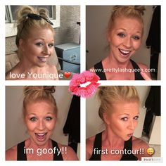 Sculpting trio! Younique is the best!❤️