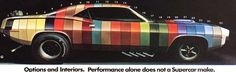 Very cool image showing all the color options. I wish the pic was bigger.  Sorry.