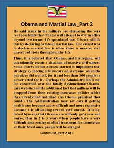 Obama's Plan for Martial Law_2 of 6