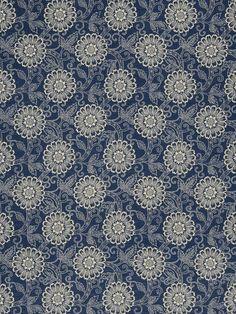 Home Decor Fabric Swatch Print Fabric-French General Locker Indigo, , hi-res Chair Fabric, Drapery Fabric, Swatch, Fabricut Fabrics, French General, Traditional Fabric, Traditional Decor, Textiles, Unique Lighting