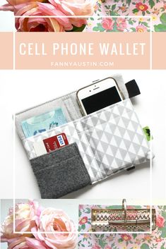 Pretty iPhone wallet for women