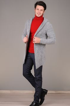 Kapsonlu Gri Uzun Hirka Giyim Indirim Kampanya Bayan Erkek Bluz Gomlek Trenckot Hirka Etek Yelek Mont Kase Kaban Elbise Moda Hirkalar Trenckot