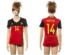 http://www.yjersey.com/belgium-home-14-mertens-home-euro-2016-women-jersey-belgi.html BELGIUM HOME 14 MERTENS HOME EURO 2016 WOMEN JERSEY BELGIË Only 36.00€ , Free Shipping!