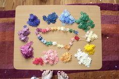 making leis by xoelle, via Flickr