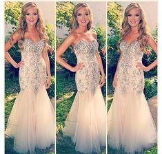 Pd431 Charming Prom Dress,Strapless Prom Dress,Beading Prom Dress,Mermaid Prom Dress,Sexy Prom Dress