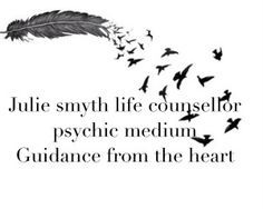 psychic/medium and life counsellor