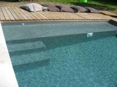 escalier piscine avec banquette - Recherche Google