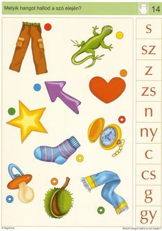 LOGICO Melyik hangot hallod a szó elején - Katus Csepeli - Picasa Webalbumok Dysgraphia, Speech Therapy, Playroom, Worksheets, Clip Art, Kids Rugs, Printables, Album, Activities