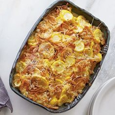 Hearty Thanksgiving Casseroles: Squash Casserole