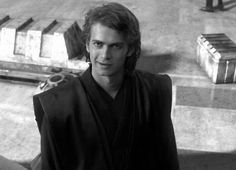 Anakin Skywalker. I honestly think that when he grows his hair out he looks really hot!