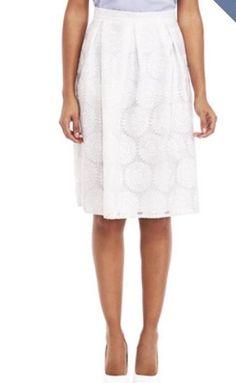 Daisy print skirt! F&F