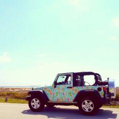 Lilly Pulitzer Jeep in You Gotta Regatta