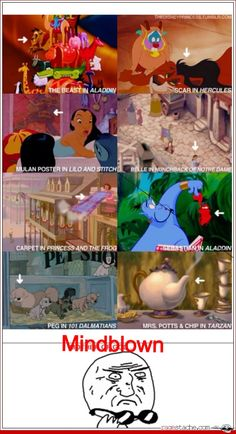Mind=blown... I must now go and re-watch all of these movies