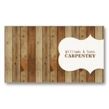 Mahogany colored dovetail joint business card carpentry business wooden carpentry business cards wajeb Image collections