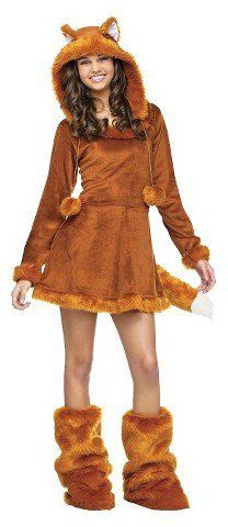 Pin for Later: 169 Warm Halloween Costume Ideas That Won't Leave Your Kids Freezing Sweet Fox Costume Junior's Sweet Fox Costume ($32)